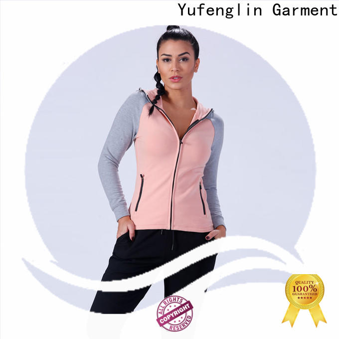 Yufengling women gym hoodies womens traditional sportswear customization