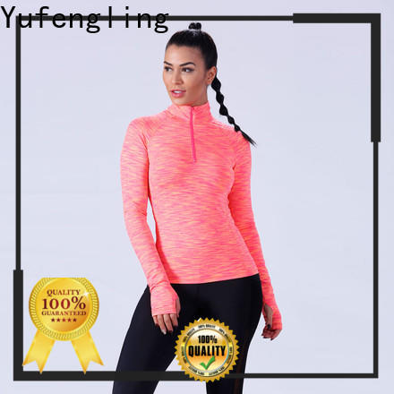 Yufengling fashion ladies t shirt manufacturer exercise room