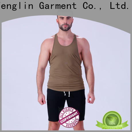 exquisite male tank tops tank fitting-style in gym