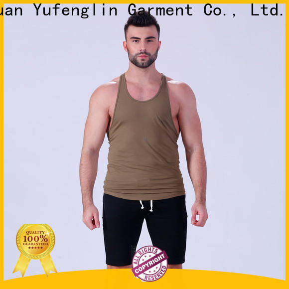 Yufengling stringer mens workout tanks wholesale for sports