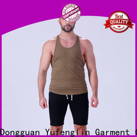 Yufengling alluring muscle tank tops casual-style for sports