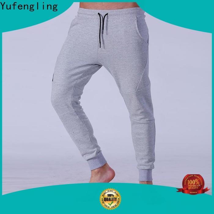Yufengling stable mens jogger pants yoga room