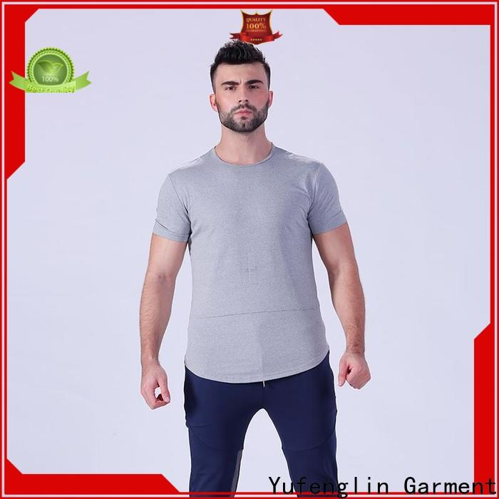 Yufengling workout t shirts mens supplier fitness centre