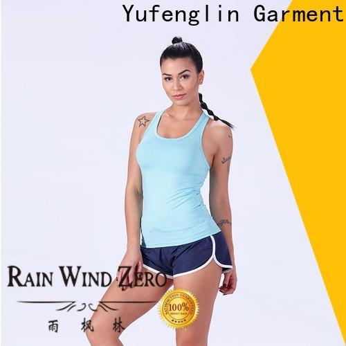 Yufengling durable female tank top yoga wear yogawear