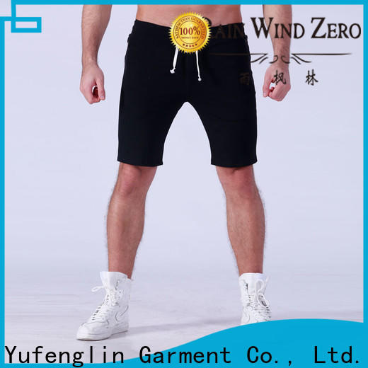 Yufengling hot-sale gym shorts men wholesale fitness centre