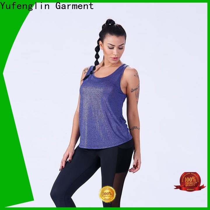 Yufengling exquisite women tank top fitness for trainning