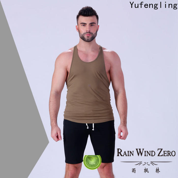 solid bodybuilding tank tops loose fitness exercise room