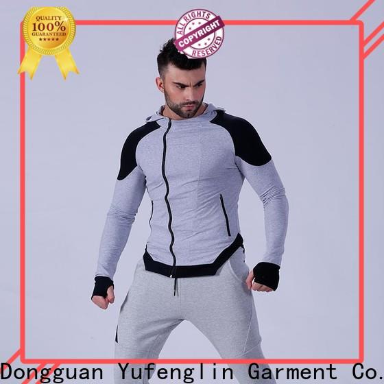 Yufengling design mens hoodie long-sleeve yoga room