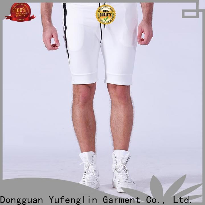 Yufengling men mens athletic shorts supplier fitness centre