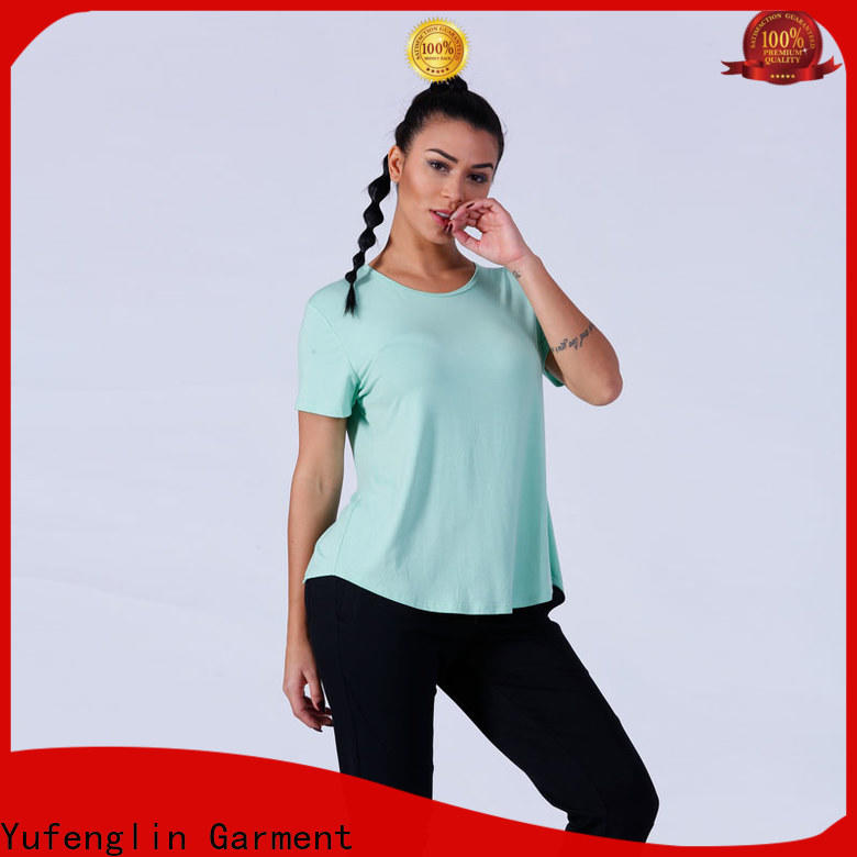 Yufengling magnificent gym t shirts for ladies casual-style for training house