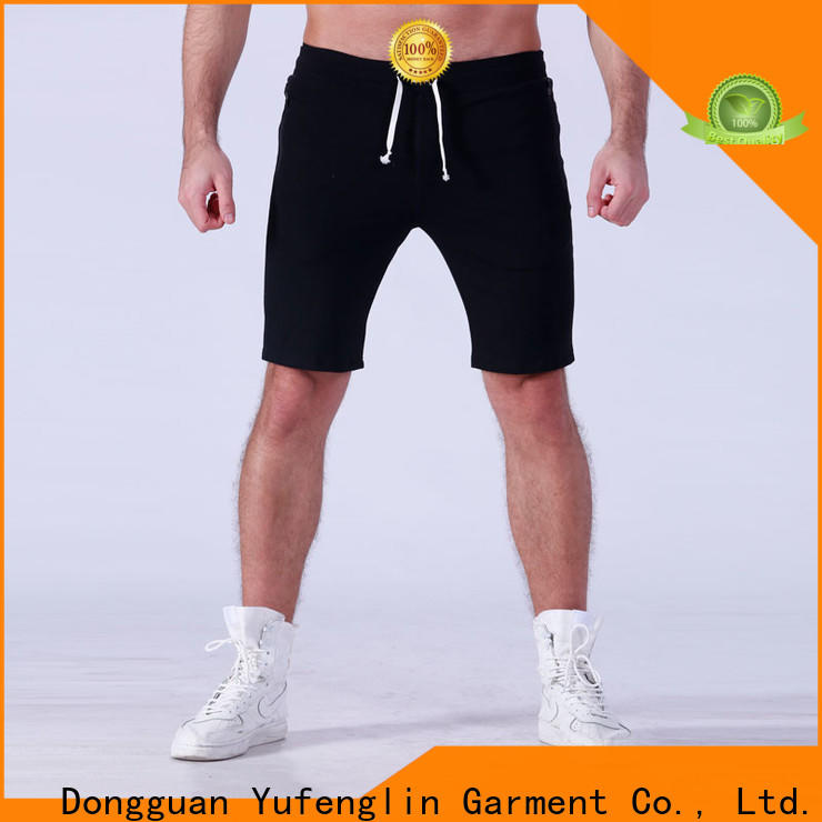 Yufengling quality mens workout shorts factory