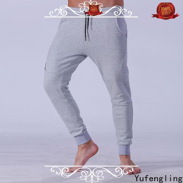 Yufengling newly mens joggers breathable
