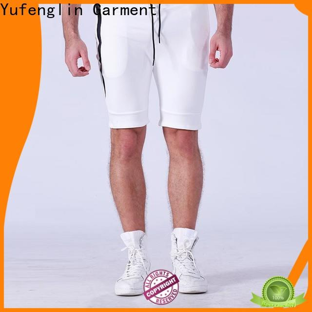 Yufengling quality mens athletic shorts owner fitness centre