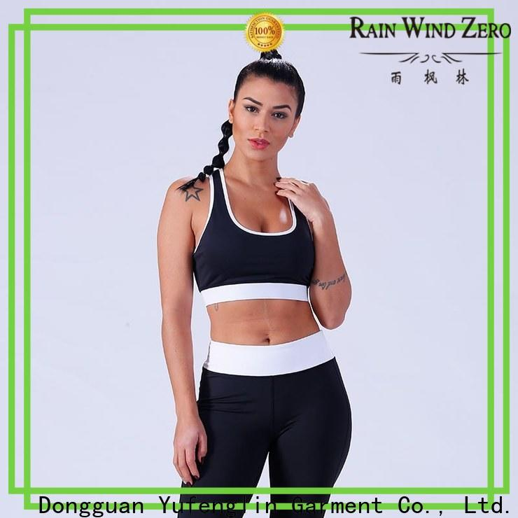 Yufengling top best sports bra for running yoga wear for trainning