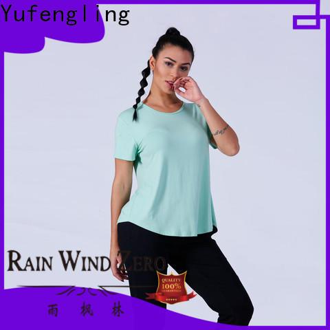 exquisite customize t shirts fashion manufacturer yoga room