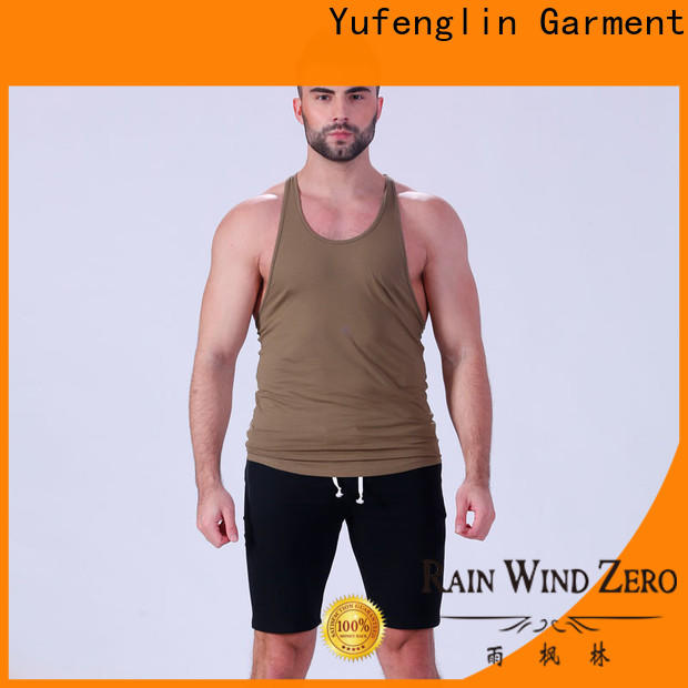 Yufengling stunning mens tank tops sports-wear for training house