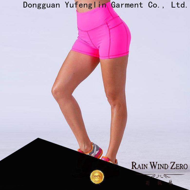 Yufengling alluring ladies gym shorts in different color exercise room
