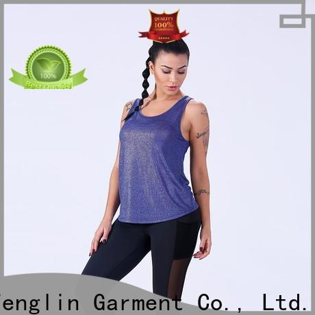 quality female tank top women fitness workout