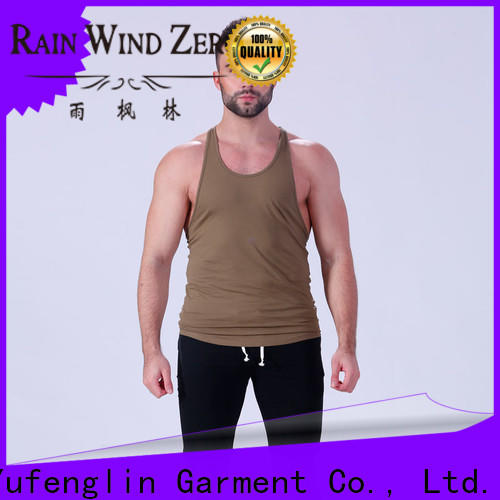 Yufengling oem muscle tank tops fitting-style yoga room
