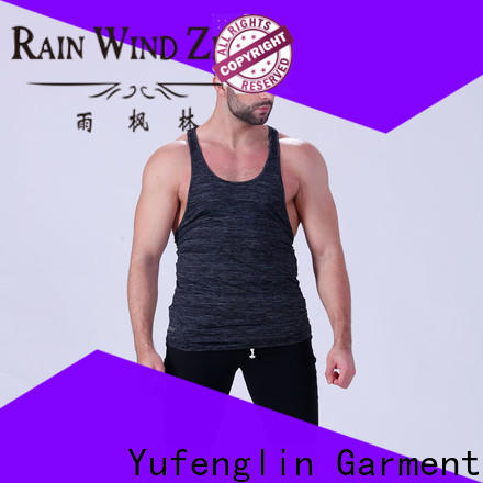 Yufengling oem gym tank top fitness for training house