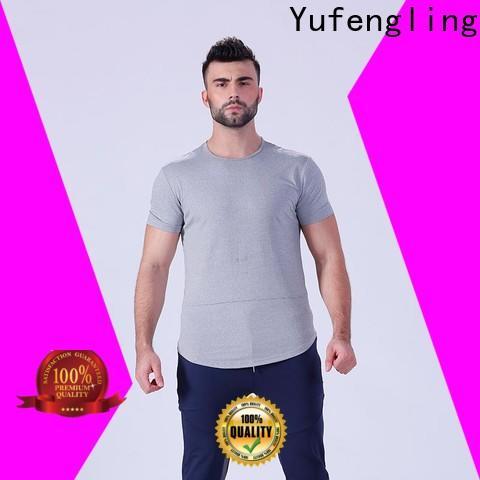 Yufengling newly mens t shirt factory gymnasium