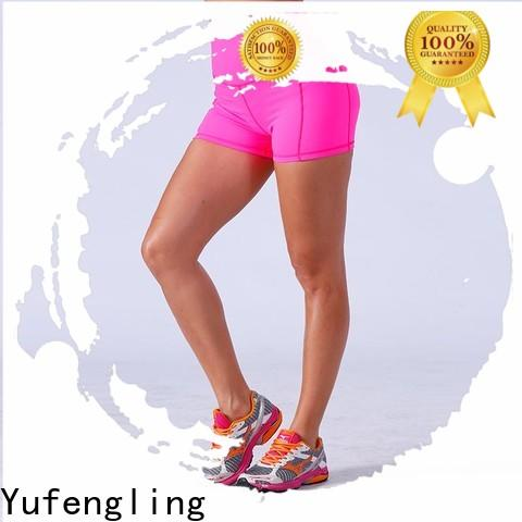 Yufengling exquisite athletic shorts womens for-womans colorful