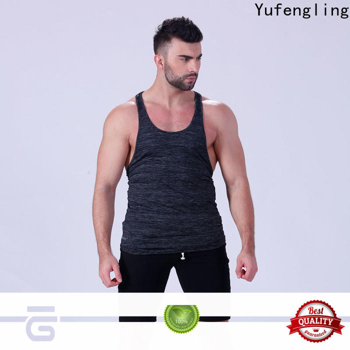 Yufengling exquisite gym tank top fitness in gym