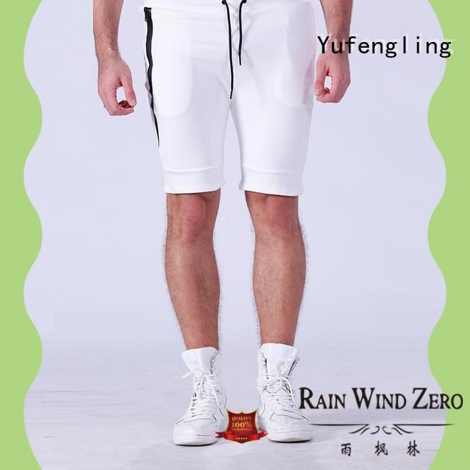 Yufengling cotton sports shorts for men supplier