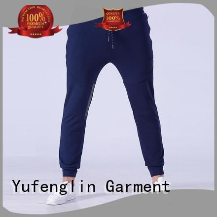 Yufengling slim mens jogger pants for track  for sports