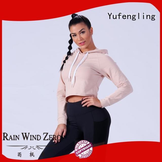 zip-up ladies sweatshirts ODM service customization Yufengling