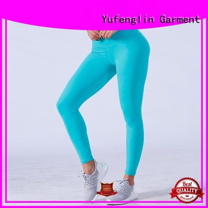 Yufengling fitnesswear seamless leggings pati-color