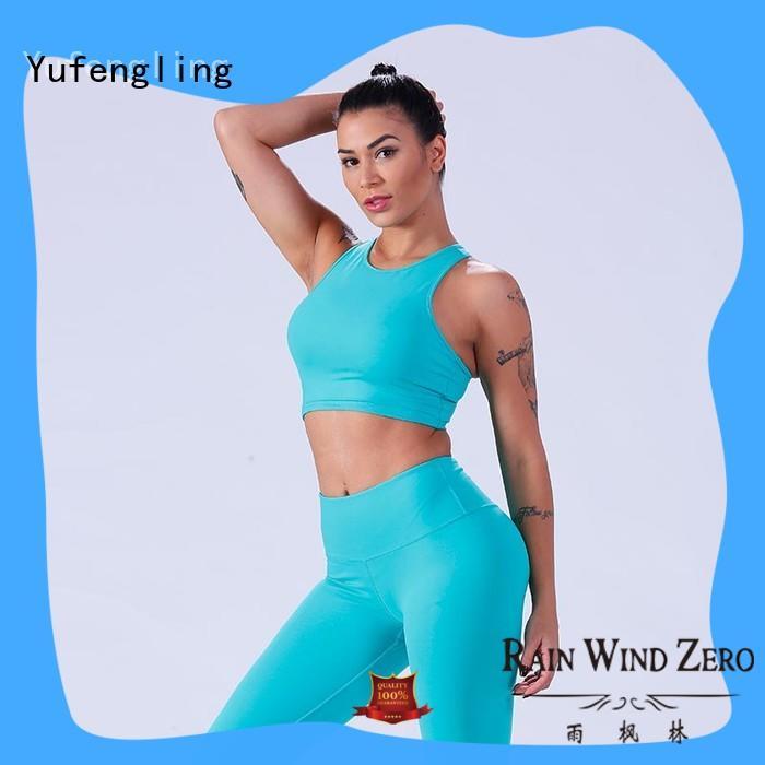 Yufengling yflsbw01 best sports bra for running tranning-wear for trainning