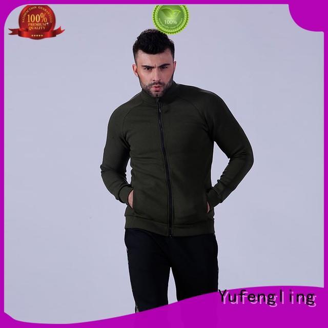 Yufengling hot-sale gym hoodie for men yoga room