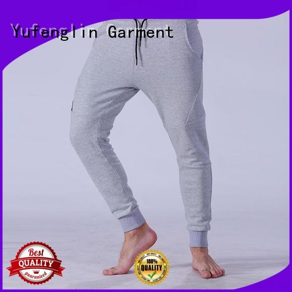 Yufengling sweatpants mens joggers gym shorts yoga room