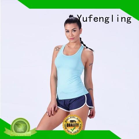 hot-sale tank top female gym shorts Yufengling
