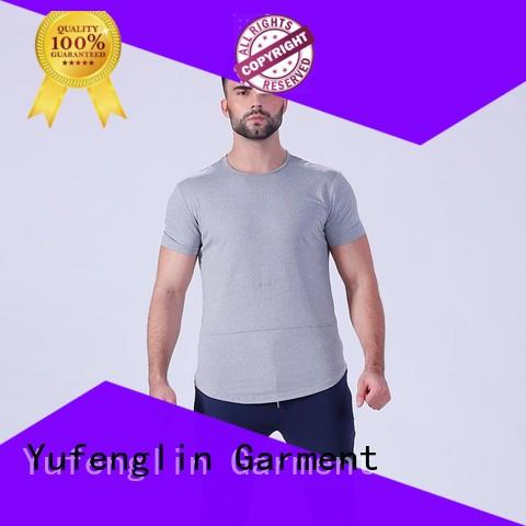 Yufengling quality fitness t shirt for-mens for training house