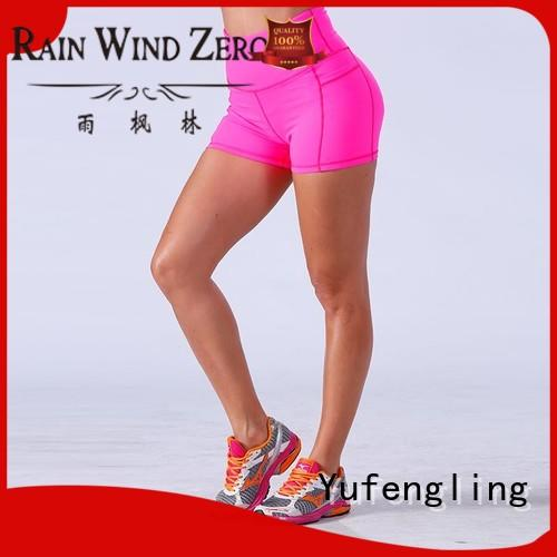 Yufengling exquisite womens workout shorts fitness suitable style