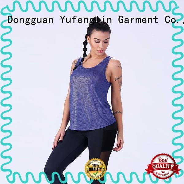 Yufengling awesome ladies tank tops fitness yoga room
