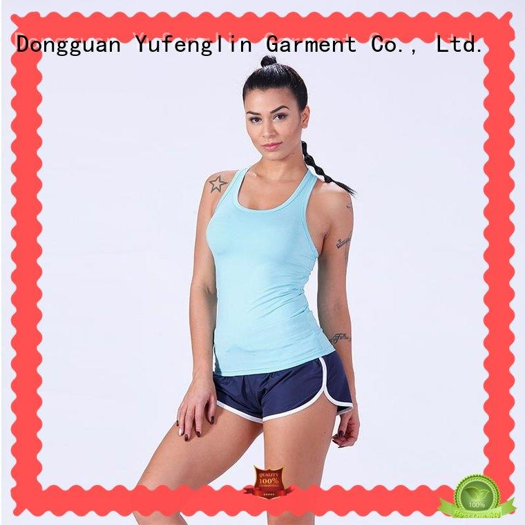 durable tank top female sporting-style for training house Yufengling