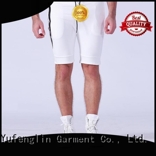 Yufengling gym gym shorts men in different color fitness centre