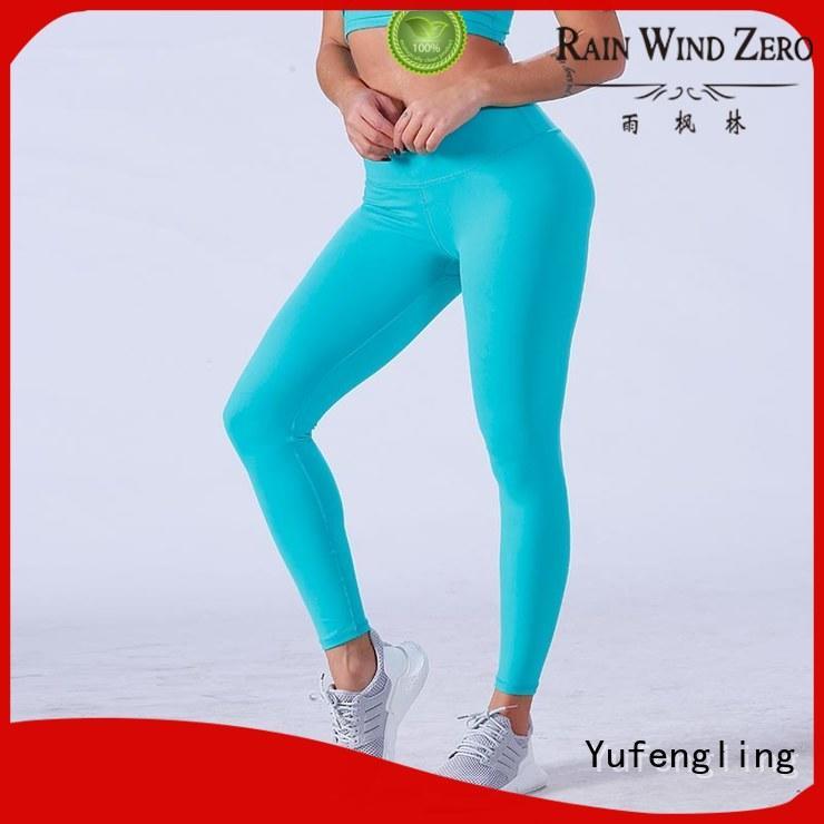 Yufengling yfllgw02 sport leggings gym shorts workout