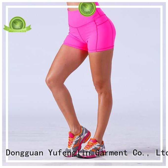 Yufengling bodybuilding girls gym shorts sporting-style for training house