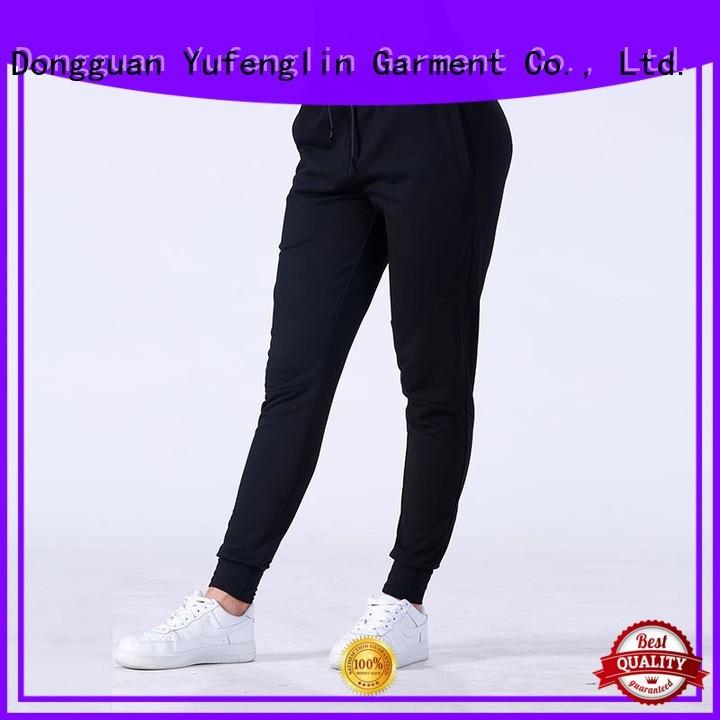 Yufengling classical jogger sweatpants China yogawear