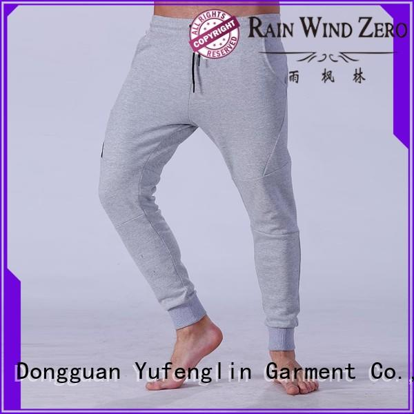 Yufengling high-quality mens jogger pants for training house