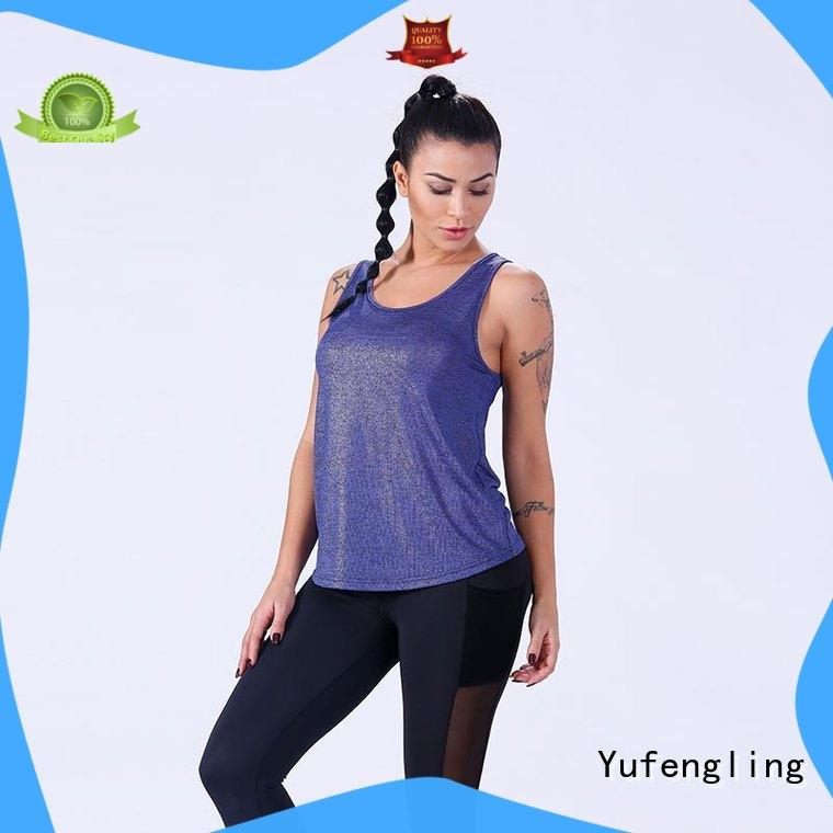 Yufengling womens womens singlet tops sporting-style exercise room