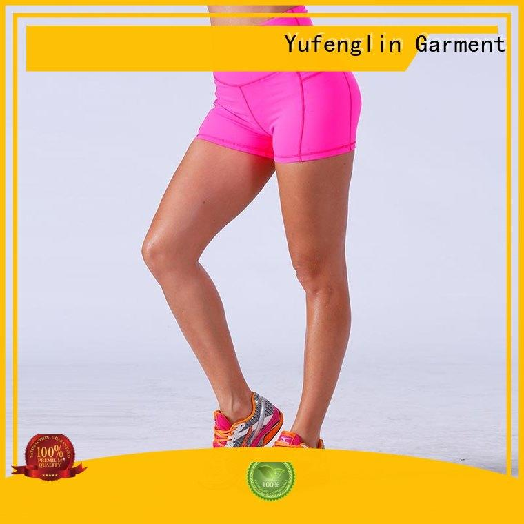 Yufengling magnificent ladies gym shorts manufacturer