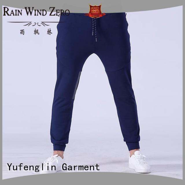 fashion men's grey jogger pants new nylon fabric gymnasium
