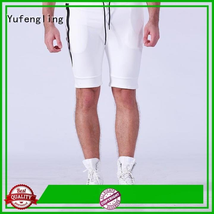 plain mens sports shorts mens in gym Yufengling