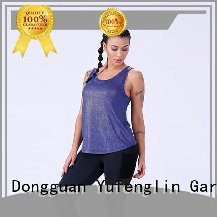 quality female tank top top fitness for trainning