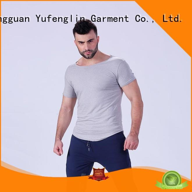 gym mens t shirt manufacturer for training house